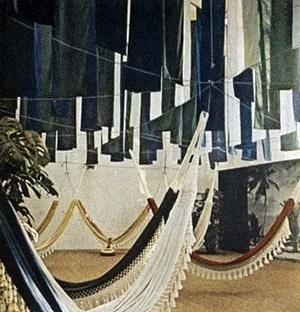 Foto colorida do Pavilhão Brasileiro publicada na revista Time, 1964