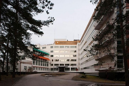 Sanatório Paimio, projeto de Alvar Aalto, Finlândia<br />foto Leon Liau  [Wikimedia Commons]