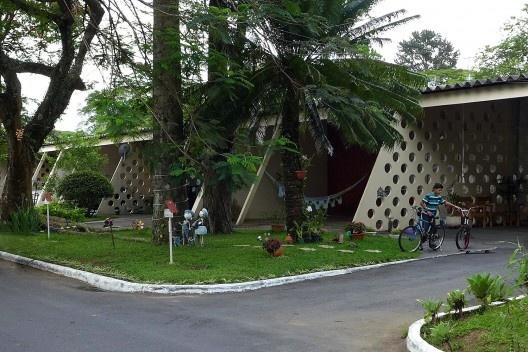 Centro Tecnológico da Aeronáutica, residências, São José dos Campos SP. Arquiteto Oscar Niemeyer<br />Foto André Marques