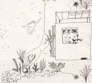 Ilustração para contos infantis, forma-tipo