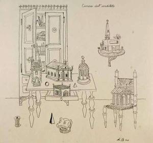 Quarto do arquiteto, 1943
