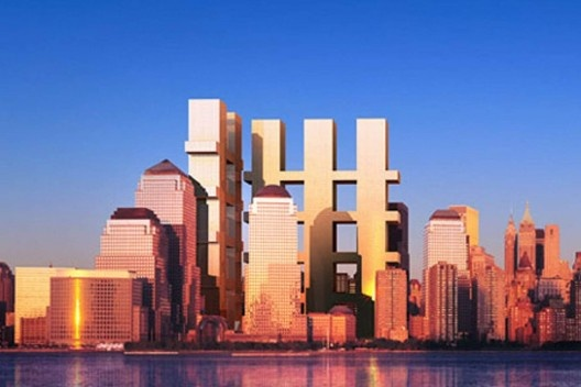 Concurso para reconstrução do local do World Trade Center, Richard Meier & Partners Architects, Eisenman Architects, Gwathmey Siegel & Associates, Steven Holl Architects [Lower Manhattan Development Corporation]