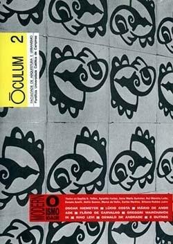 Óculum, nº 2, setembro 1992. Revista da Faculdade de Arquitetura e Urbanismo, Pontifícia Universidade Católica de Campinas / Hollons Informática. ISSN 0104-0308