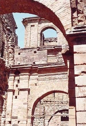 Ruínas da Igreja das Missões<br />Foto Ricardo Rocha