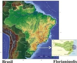 lustração 04: Localização de Florianópolis/SC