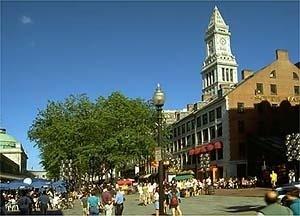Quincy Market, Boston <br />Foto Tadd Torborg