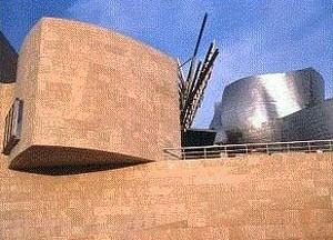 Museu Guggenheim em Bilbao. Arquiteto Frank Gehry
