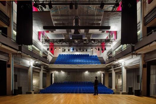 Teatro Engenho Central, Piracicaba SP, 2009. Escritório Brasil Arquitetura<br />Foto Nelson Kon