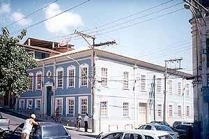 Academia Vila Forma, fachada principal<br />Foto do autor