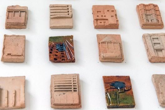 Exposição 250 Arquiteturas Americanas, curadoria de Fernando Lara e Coletivo Goma Oficina, 11a Bienal de Arquitetura de São Paulo, São Paulo 2017<br />Foto Lauro Rocha