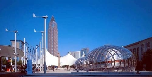 The Bubble. Arquiteto Bernhard Franken