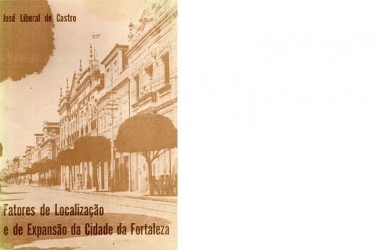 """Capa do Livro """"Fatores de Localização e de Expansão da Cidade de Fortaleza"""". [divulgação]"""