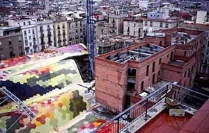 Mercado Santa Caterina em Barcelona, Enric Miralles e Benedetta Tagliabue