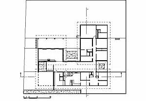 Planta da Residência Stephan Neuding, arquiteto Gian Carlo Gasperini, 1959. Planta organizada em pavilhões<br />Desenho Maurício Azenha Dias