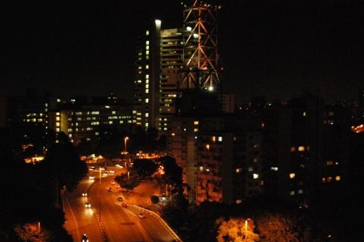 Vista do Edifício Anchieta para a Avenida Dr. Arnaldo<br />Foto Thomas Bussius