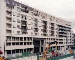 Habitação de interesse social. ZAC Bercy, Paris<br />Foto AG