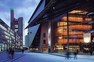 Teatro em Potsdamer Platz. Foto Vincent Mosch [Renzo Piano Building Workshop]