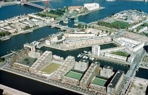 Kop von Zuid, Porto de Roterdã. Projeto urbano de Riek Bakker [Foto Studio RBV]