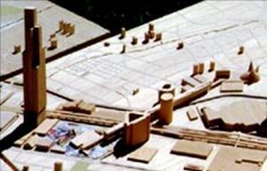 Proposta da equipe liderada pelo arquiteto Cândido Malta Campos Filho. Projeto Eixo Tamanduatehy, Prefeitura de Santo André