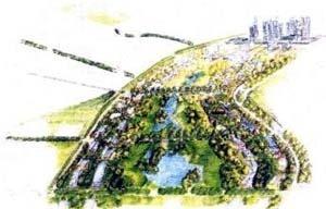 Proposta da equipe liderada pelo arquiteto Joan Busquets. Projeto Eixo Tamanduatehy, Prefeitura de Santo André