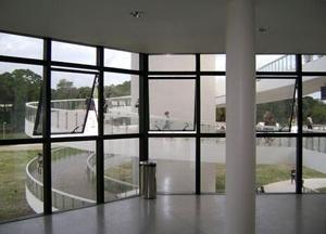 A rampa desde o interior da torre<br />Foto Aristóteles Cordeiro e Mariama Ireland