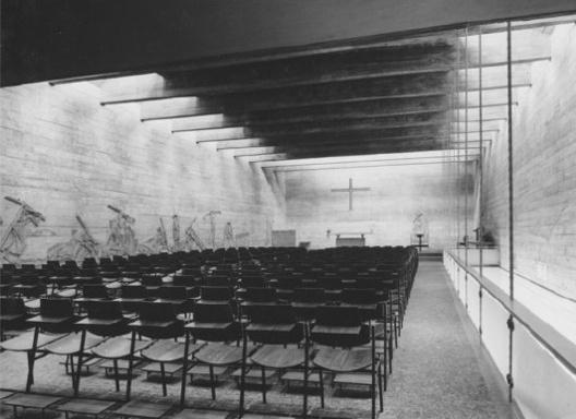 Centro Paroquial São Bonifácio. São Paulo, 1966 [Arquivo Hans Broos]