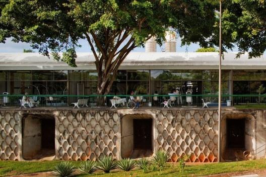 Hospital Sarah, Salvador. Arquiteto João Filgueiras Lima, Lelé<br />Foto Nelson Kon