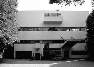 Villa Stein, Garches. Le Corbusier, 1927. Fachada Frontal