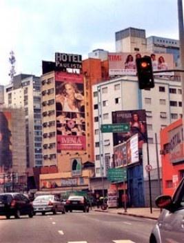 Avenida Paulista, São Paulo, poluição visual<br />Foto divulgação