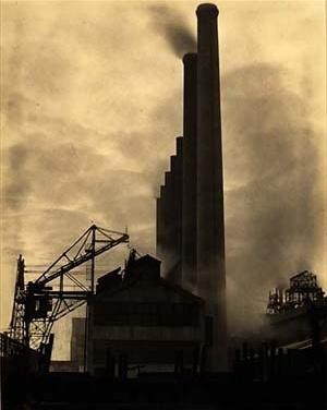 Edward Weston, Siderúrgica Armco, Ohio EUA, 1922