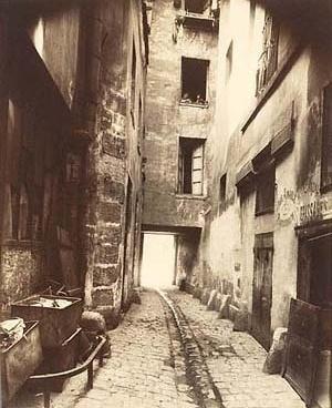 Eugene Atget. Bairro Antigo, Paris 1910-1911
