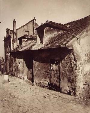 Eugene Atget. Zona da prostituição em Montmartre, 1923