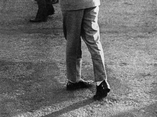 Jânio Quadros em Uruguaiana RS, detalhe, 21 de abril de 1961<br />Foto de Erno Schneider  [website do Senado Federal]