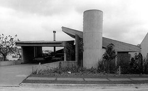 Residência Ernesto D'Orsi, São Paulo, 1972<br />Foto José Moscardi