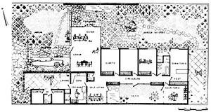 Residência Edmundo Mello Costa, planta, Petrópolis, 1954 [Acervo do arquiteto]