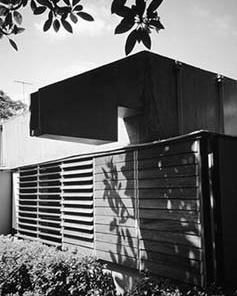Casa Boris Fausto, São Paulo. Arquiteto Sérgio Ferro<br />Foto José Moscardi