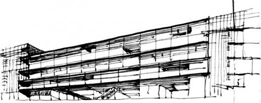 Arquitextos representaci n gr fica del edificio y for Tecnicas de representacion arquitectonica pdf