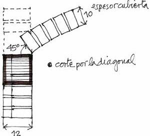 """En claros menores de 4.50 m; basta una cadena perimetral de 15x15 cm con 4 diámetros de 3/8"""". El espesor de la bóveda es de 10 cm. La proporción del espesor en relación al claro máximo de 10 m es de 1/100"""