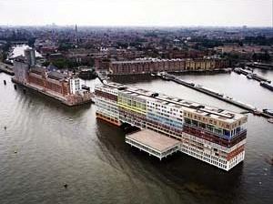 Silodam Housing Amsterdam, Holanda. Escritório MVRDV. Palestra de Nathalie De Vrie