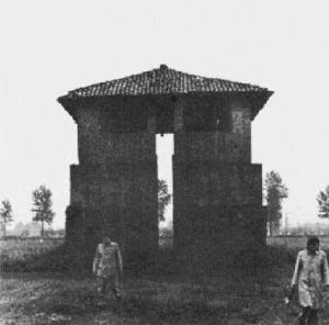 Figura 2: Construção rural - Lombardia (Itália) [ROSSI, 1975]