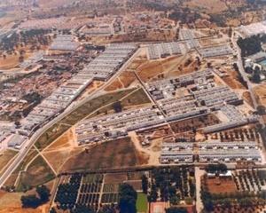 Figura 4: Bairro da Malagueira (1977-2000), Évora – Portugal. Arq. Álvaro Siza [Arquivo pessoal - A. Monteiro]