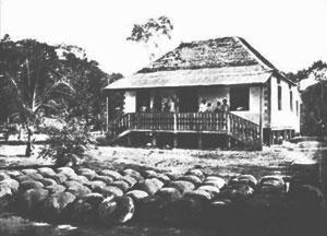 Figura 7: Casa no Seringal Vista Alegre - Amazônia Brasileira [COSTA, 2002]