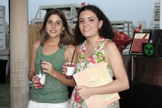 Claudia Levy e Marina Amado, da equipe Vitruvius<br />Foto Thomas Bussius