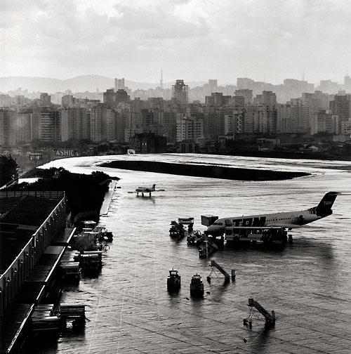 Aeroporto de Congonhas, São Paulo<br />Foto Nelson Kon