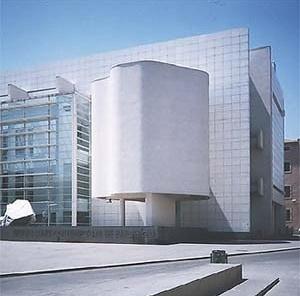 Museu d'Art Contemporani de Barcelona, Arq Richard Meier<br />Fotos Abilio Guerra