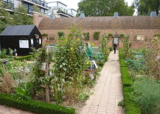 Bercy Park: Hortas durante a Festa dos Jardins: educação, recreação e contato direto com a natureza. <br />Foto Cecilia Herzog