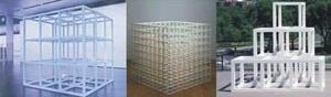 Fig. 5: Cubos modulares - Sol Lewitt [www.google.com.br]