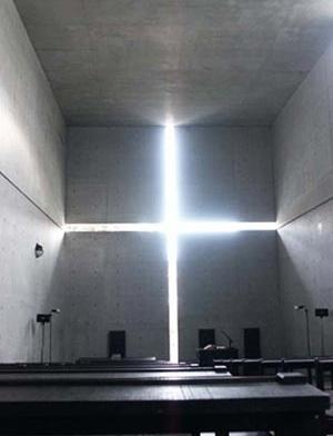 Fig. 10: Igreja da Luz (Osaka, 1989) – Vista interna [www.greatbuildings.com]