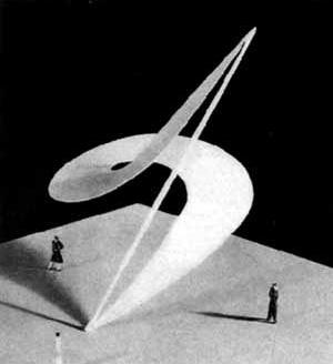 Maquete do Memorial do IV Centenario no Parque do Ibirapuera [Fantasia Brasileira – o balé do IV Centenário. São Paulo, SESC, 1998]