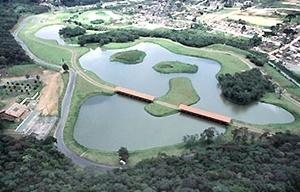 Parque Tingui, plano de bosques da década de 90, Curitiba [IPPUC]